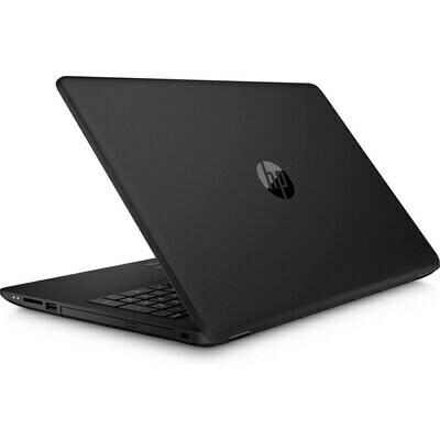HP 15 CELERON / 4GB /  500GB 15.6  W10  BLACK