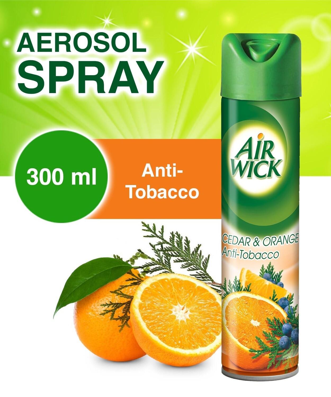 AIRWICK 2IN1 A/F CEDAR&ORNG A/TOBCO3OOML