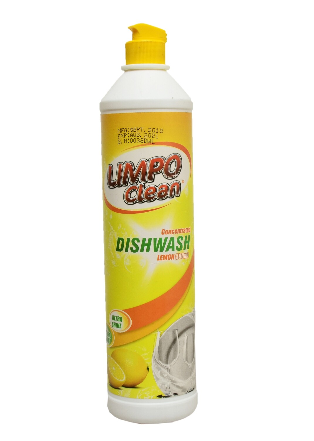 LIMPO CLEAN CONCEN DISHWASHER LEMON500ML