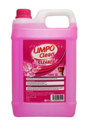LIMPO CLEAN ALL PURPOSE CLEANER FLORAL 4LTR