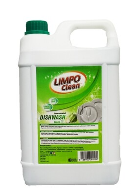 LIMPO CLEAN CONCENTRATE DISHWASH GREEN 4L