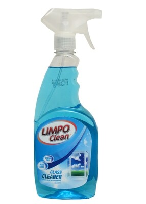 LIMPO CLEAN GLASS CLEANER CRYSTAL BLUE WITH FRAGRANCE 500ML