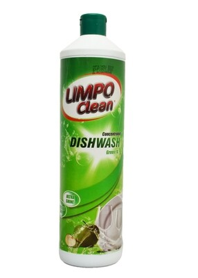 LIMPO CLEAN CONCENTRATED DISHWASH GREEN 1L