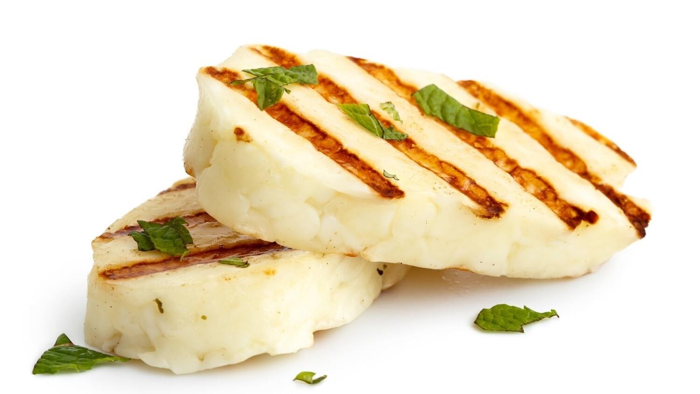 Spiced Grilled Halloumi