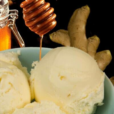 Honey And Ginger Ice Cream