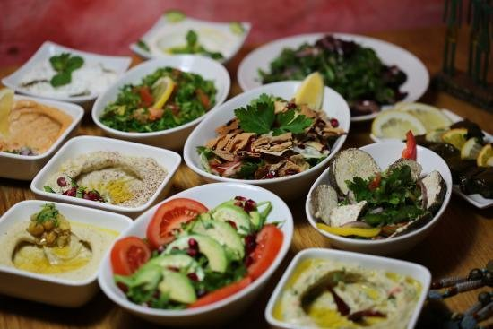 Cold Sharing Mezze