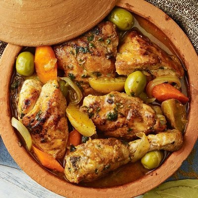 Chicken and Preserved Lemon Tagine