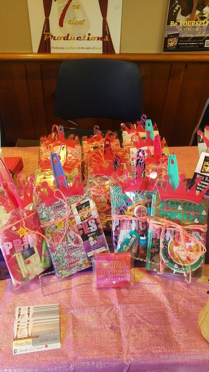 Mini Tru YOU Packages (add on to Miss BJB book)