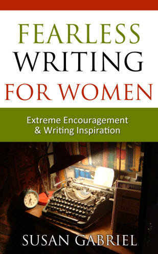 Fearless Writing for Women - paperback, autographed by author