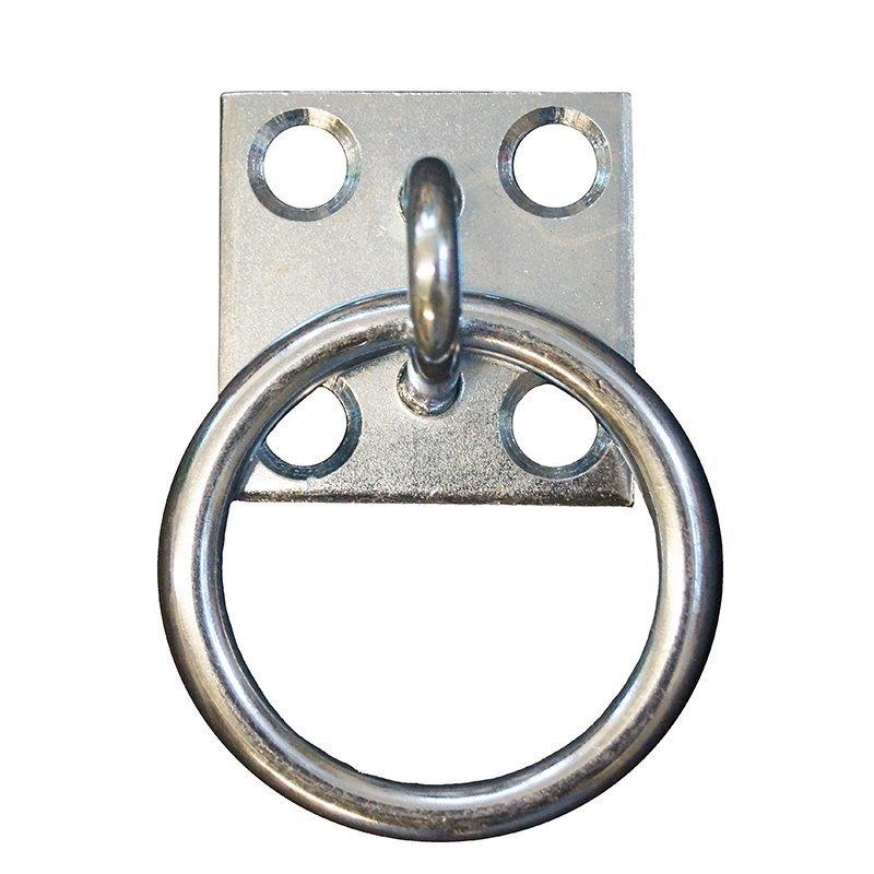 Anbindering-Bodenplatte mit beweglichem Ring