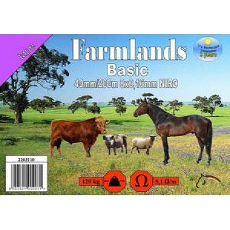 """Farmlands, Breitband """"Basic"""", 40mm, 200m, 8x0,15 NIRO"""