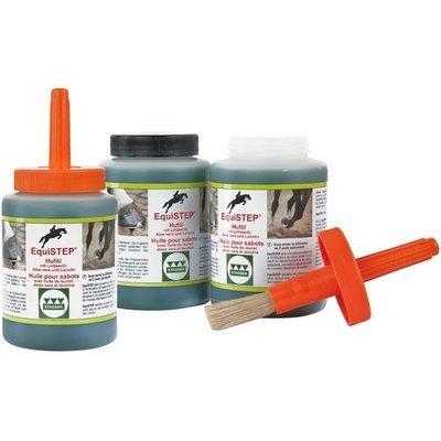 EquiSTEP Huföl mit Lorbeeröl, Aloe Vera und Lanolin