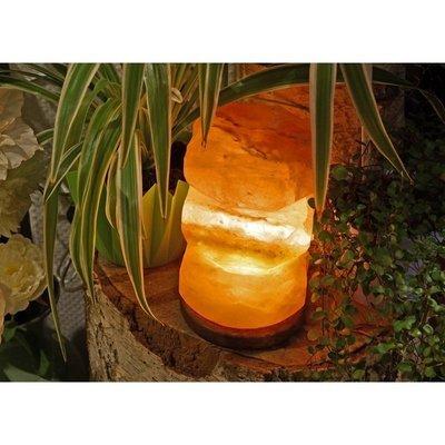 Salzkristall Lampe