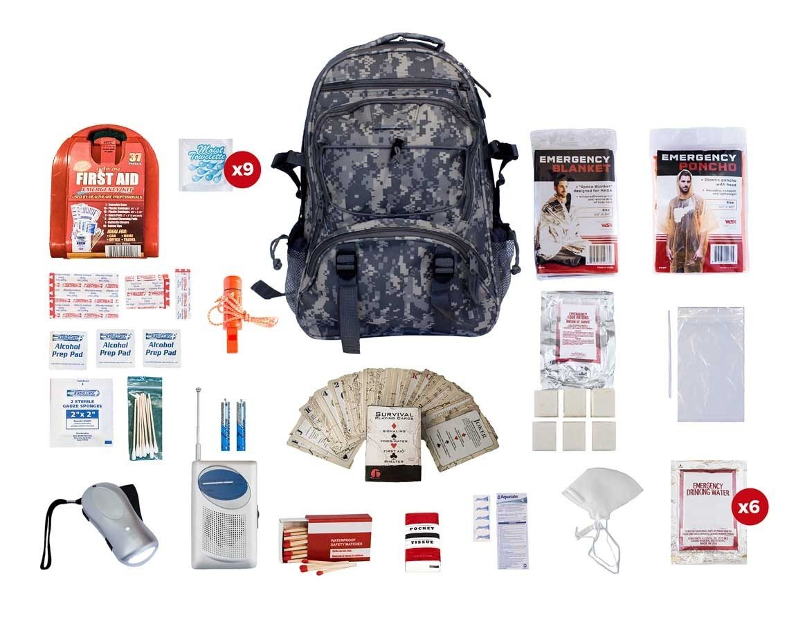 Basic Survival Pack (Camo)