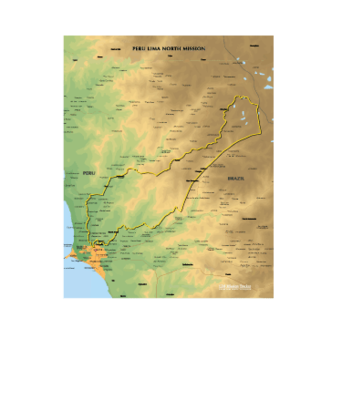 Peru Lima North Mission Medium (8X10)  Digital Download Only