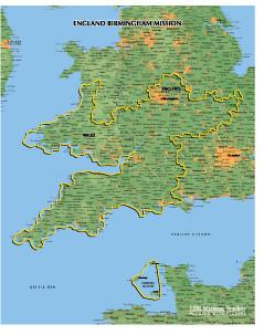 England Birmingham Mission Medium (8X10) Digital Download Only