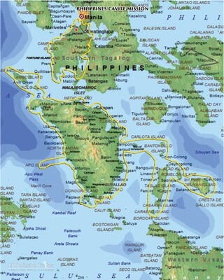 Philippines Cavite Mission LARGE (11X14) Digital Download Only
