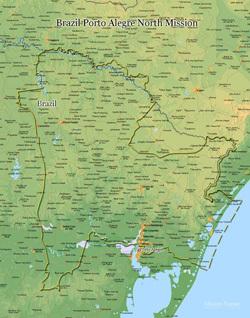 Brazil Porto Alegre North Mission MEDIUM (8X10) Digital Download Only