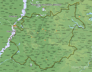 Paraguay Asuncion Mission Medium (8X10) Digital Download Only