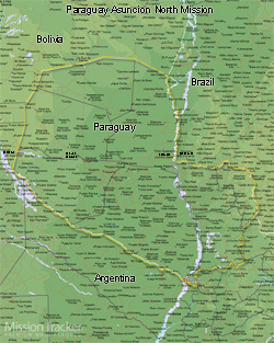 Paraguay Asuncion North Mission Large (11X14) Digital Download Only
