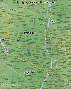 Paraguay Asuncion North Mission Medium (8X10) Digital Download Only