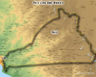 Peru Lima East Mission Large (11X14) Digital Download Only
