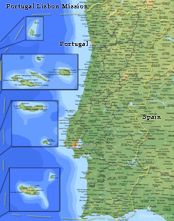 Portugal Lisbon Mission LARGE (11X14) Digital Download Only