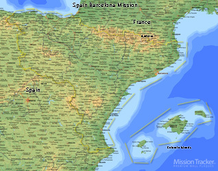 Spain Barcelona Mission LARGE (11X14) Digital Download Only