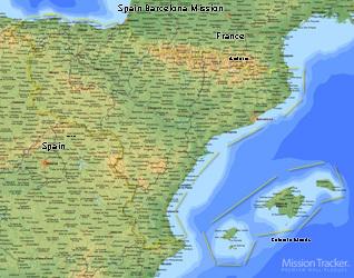 Spain Barcelona Mission Medium (8X10) Digital Download Only