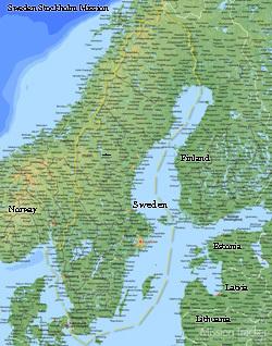 Sweden Stockholm Mission LARGE (11X14) Digital Download Only