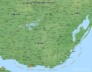 Uruguay Montevideo Mission Medium (8X10) Digital Download Only