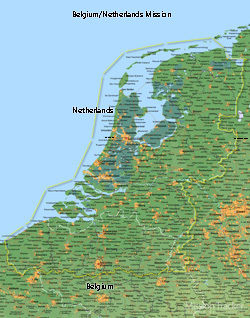 Belgium/Netherlands Mission LARGE (11X14) Digital Download Only