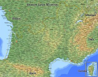 France Lyon Mission LARGE (11X14) Digital Download Only