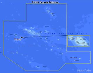 Tahiti Papeete Mission Medium (8X10) Digital Download Only