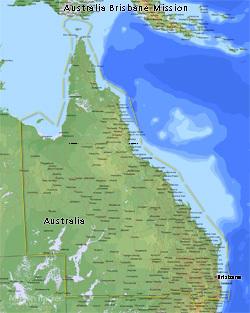 Australia Brisbane Mission MEDIUM (8X10) Digital Download Only