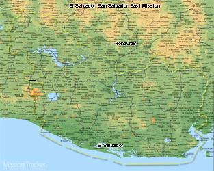 El Salvador San Salvador East Mission LARGE (11X14) Digital Download Only