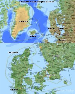 Denmark Copenhagen Mission LARGE (11X14) Digital Download Only