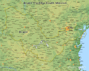 Brazil Curitiba South Mission LARGE (11X14) Digital Download Only