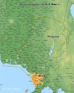 Philippines Quezon City North Mission LARGE (11X14) Digital Download Only