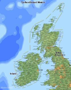 Scotland/Ireland Medium (8X10) Digital Download Only