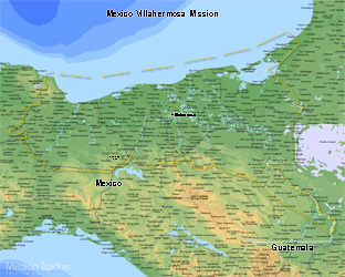 Mexico Villahermosa Mission LARGE (11X14) Digital Download Only