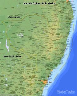 Australia Sydney North Mission LARGE (11X14) - Digital Download Only
