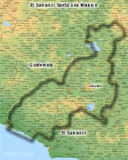 El Salvador Santa Ana Mission LARGE (11X14) Digital Download Only