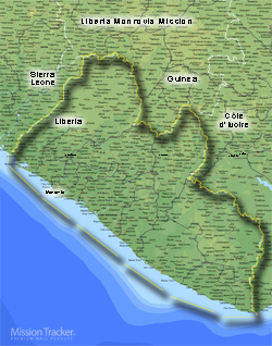 Liberia Monrovia Mission LARGE (11X14)- Horizontal Digital Download Only