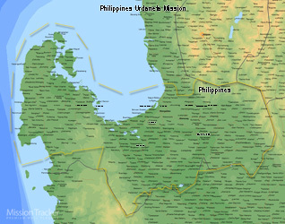 Philippines Urdaneta Mission LARGE (11X14) Digital Download Only