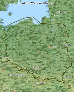 Poland Warsaw Mission Medium (8X10) Digital Download Only