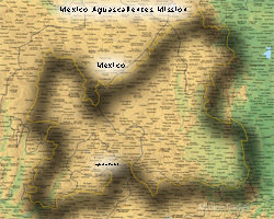 Mexico Aguascalientes LARGE (11X14) Digital Download Only