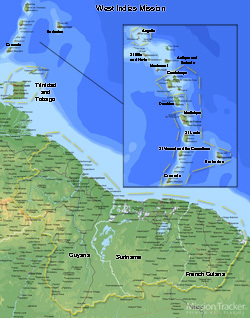 West Indies Mission LARGE (11X14) Digital Download Only