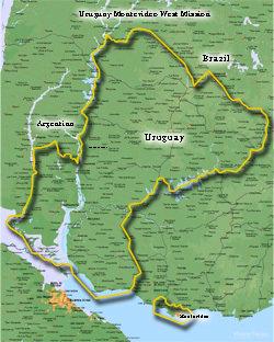 Uruguay Montevideo West Mission Large (11X14) Digital Download Only