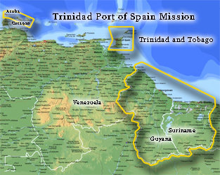 Trinidad Port of Spain Mission LARGE (11X14) Digital Download Only